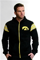 Iowa Hawkeyes NCAA Men's Full Zip-Up Hoodie Jacket