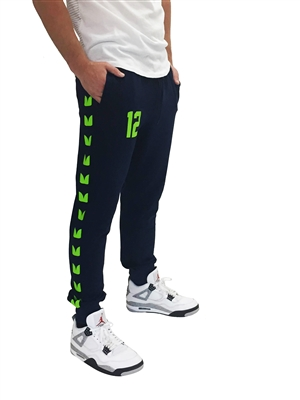 12 Unisex Lightweight Athletic Jogger Pant