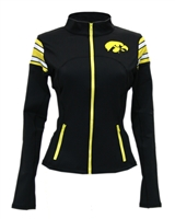 iowa hawkeyes women's yoga jacket