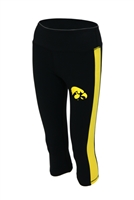 Iowa Hawkeyes Women's Yoga Pant Leggings
